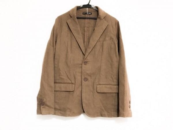 TETE HOMME(テットオム) ジャケット サイズ5M メンズ美品  ブラウン