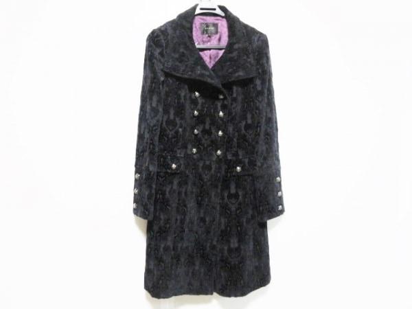 LEJOUR(ルジュール) コート サイズ38 M レディース 黒 ベロア/春・秋物