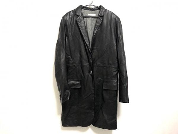 PAPILLONNER(パピヨネ) ジャケット レディース 黒 レザー