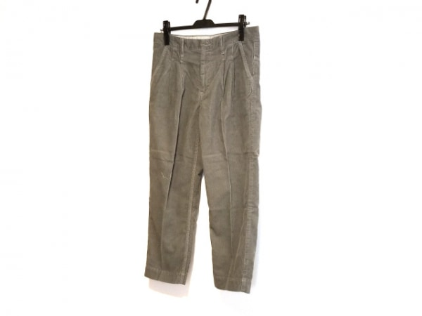 Brocante(ブロカント) パンツ サイズ3 L レディース ダークグレー コーデュロイ