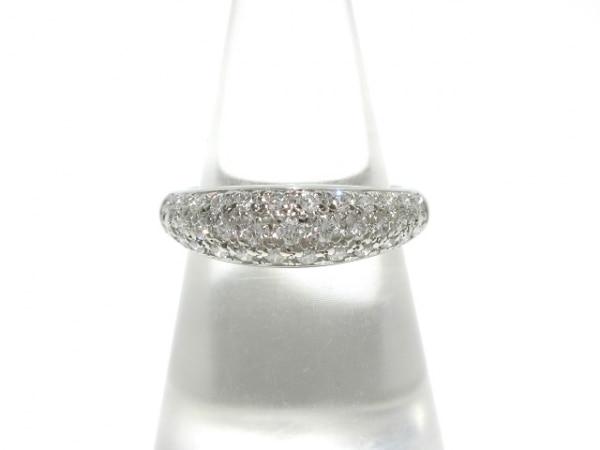 田崎真珠(タサキシンジュ) リング新品同様  Pt900×ダイヤモンド 0.43カラット