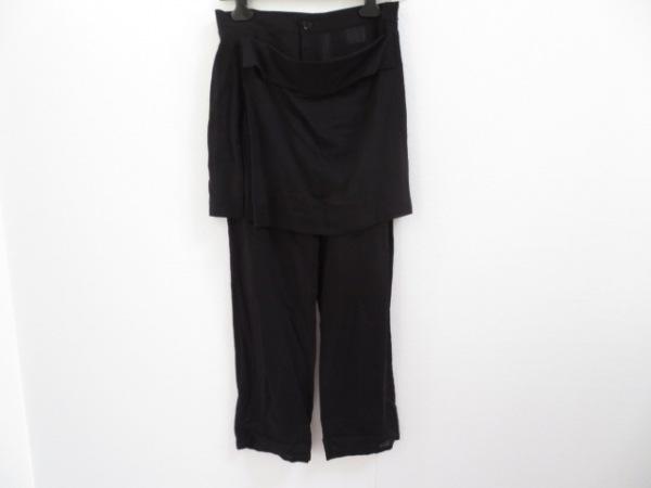 yohjiyamamoto(ヨウジヤマモト) パンツ サイズ1 S レディース 黒 +NOIR
