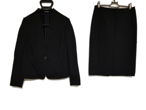 modify(モディファイ) スカートスーツ サイズ40 M レディース美品  黒