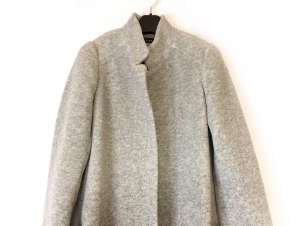 SCOTCLUB(スコットクラブ) コート サイズ9 M レディース美品  グレー 冬物/ロング丈
