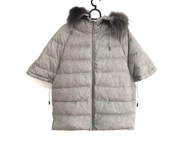Cara(カーラ) ダウンジャケット サイズ1 S レディース美品  ライトグレー 冬物
