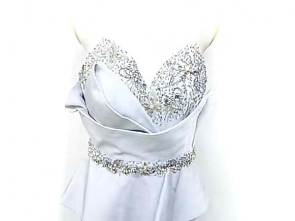 ジーンマクレーン ドレス サイズ9号 レディース ライトブルー ビジュー/ビーズ