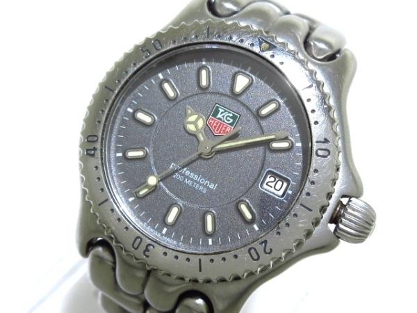 TAG Heuer(タグホイヤー) 腕時計 プロフェッショナル200 WG1213-K0 ボーイズ グレー