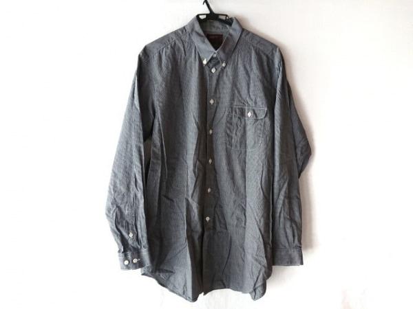 エーエーアールヨウジヤマモト 長袖シャツ サイズL メンズ 黒×白 チェック柄