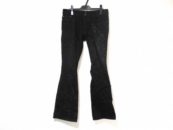 5351 PourLesHomme(5351プールオム) パンツ サイズ3 L メンズ 黒 ラメ