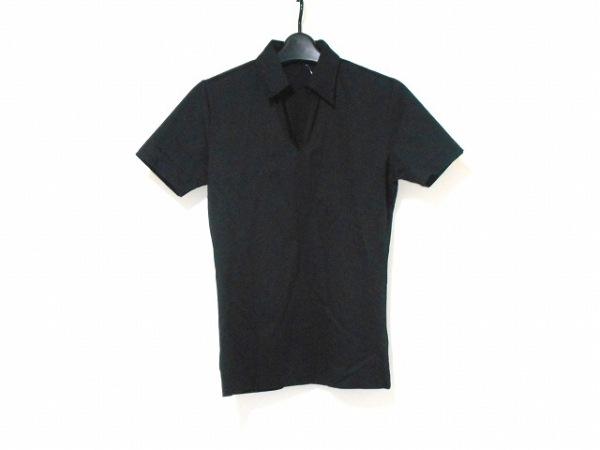 5351 PourLesHomme(5351プールオム) 半袖ポロシャツ サイズ2 M メンズ美品  黒
