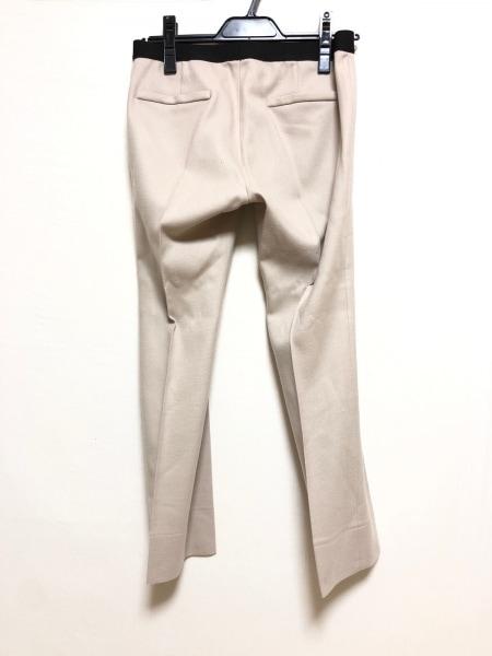 M.Fil(エム.フィル) パンツ サイズ38 M レディース ベージュ×黒 ウエストゴム
