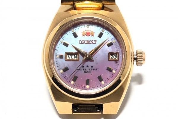 ORIENT(オリエント) 腕時計 NQ1R-RO CA レディース シェル文字盤 シェルピンク