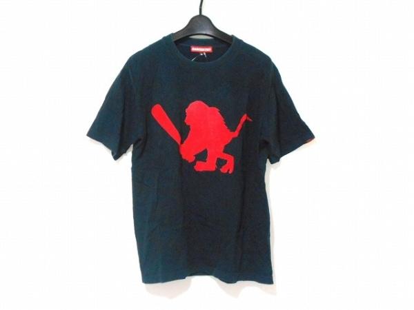 SANTASTIC!(サンタスティック) 半袖Tシャツ サイズM M メンズ 黒×レッド