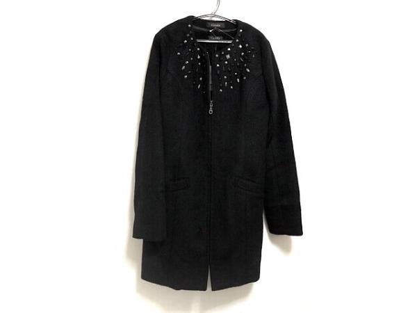 rienda(リエンダ) コート サイズM レディース美品  黒 ビジュー