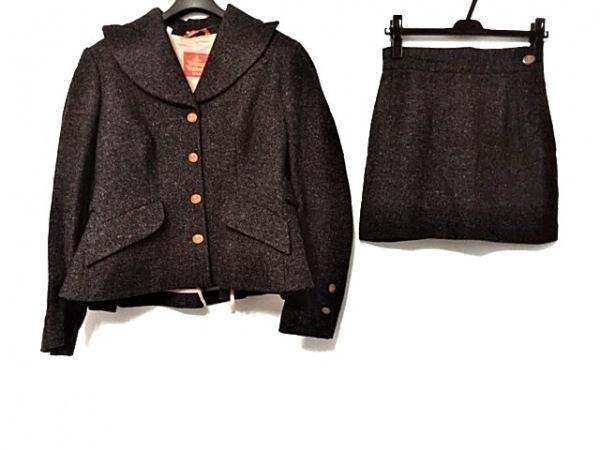ヴィヴィアンウエストウッド スカートスーツ サイズ42 L レディース ダークグレー