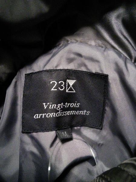 23区(ニジュウサンク) ダウンジャケット サイズ44 L レディース カーキ 冬物
