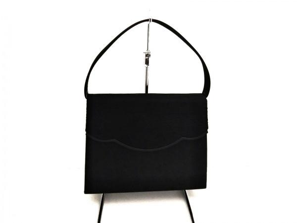 PETITSOIR(プチソワール) ハンドバッグ美品  黒 コットン