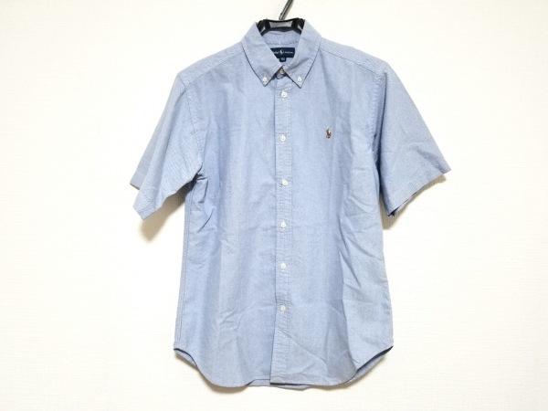 RalphLauren(ラルフローレン) 半袖シャツ サイズ160 メンズ美品  ライトブルー