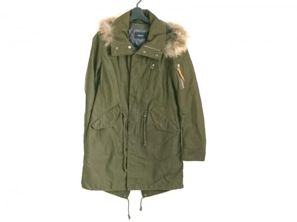 コレクティブ コート サイズ3 L メンズ カーキ×ライトブラウン ファー/冬物