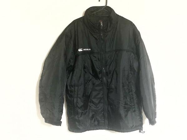 カンタベリーオブニュージーランド ダウンジャケット サイズM メンズ美品  黒