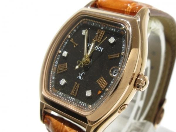 CITIZEN(シチズン) 腕時計美品  クロスシー ES9352-13E レディース 黒