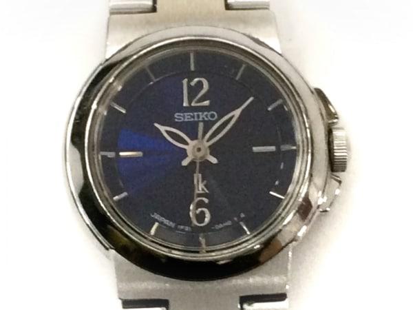 SEIKO(セイコー) 腕時計 ルキア 1F21-0AC0 レディース ダークネイビー