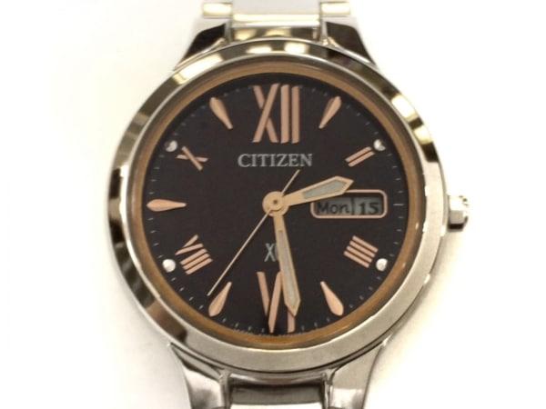 CITIZEN(シチズン) 腕時計美品  XC E001-T020330 レディース エコドライブ 黒