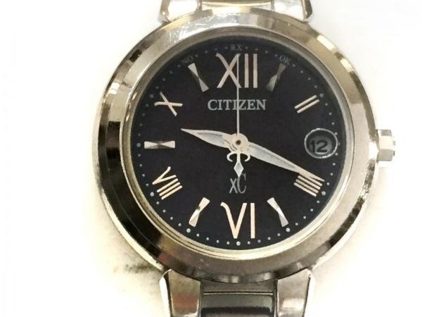 CITIZEN(シチズン) 腕時計 XC H058-T016545 レディース エコドライブ 黒