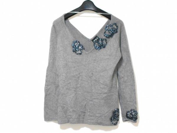 ETINCELLE(エタンセル) 長袖セーター サイズ3 L レディース グレー