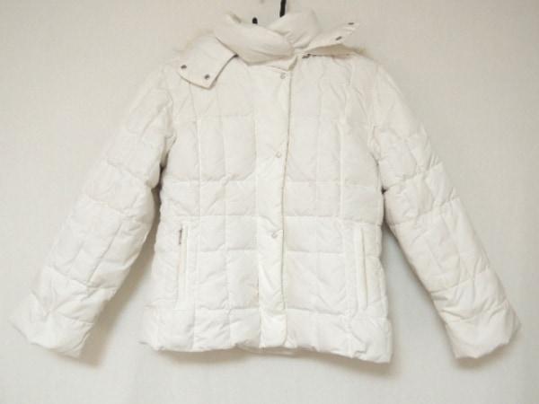 サルトリアデルピューミノ ダウンジャケット サイズL レディース 白 冬物