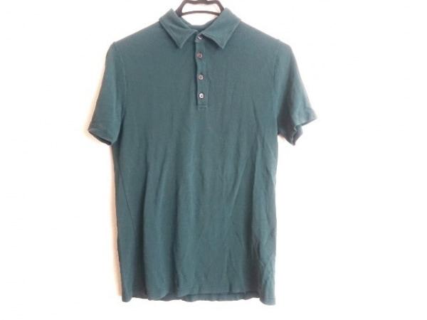 ZANONE(ザノーネ) 半袖ポロシャツ サイズ48 XL メンズ グリーン