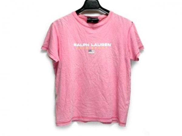 ポロスポーツラルフローレン 半袖Tシャツ サイズL レディース ピンク 綿