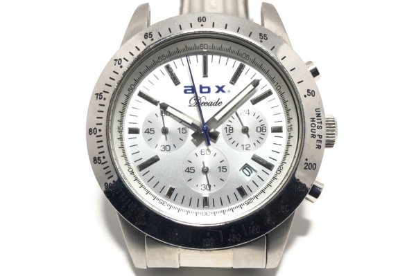 abx(エービーエックス) 腕時計 - メンズ シルバー