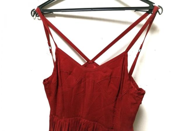 the dress&co(ザドレスアンドコー) ドレス サイズ38 M レディース レッド マキシ丈