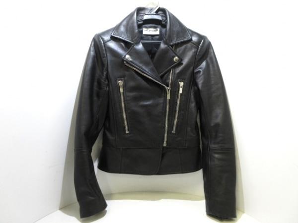 バレンシアガ ライダースジャケット サイズ34 S レディース美品  374490 TMH16 黒