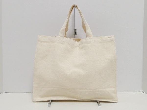 DAISY LIN(デイジーリン) トートバッグ美品  アイボリー×白 キャンバス