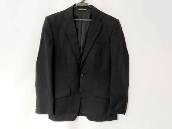 FICCE(フィッチェ) シングルスーツ サイズ46 XL メンズ ダークネイビー×グレー