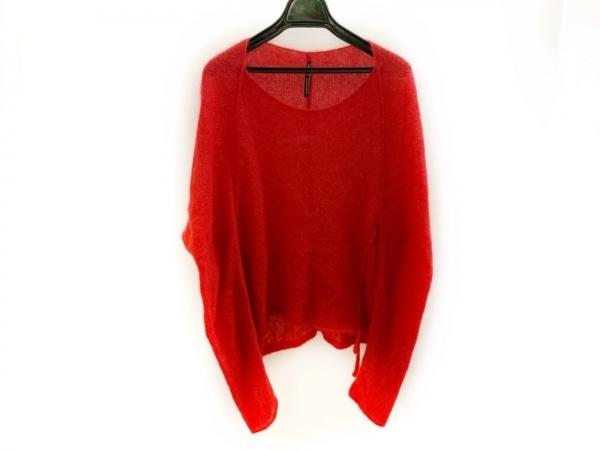 liviana conti(リビアナコンティ) 長袖セーター サイズ42 L レディース美品  レッド
