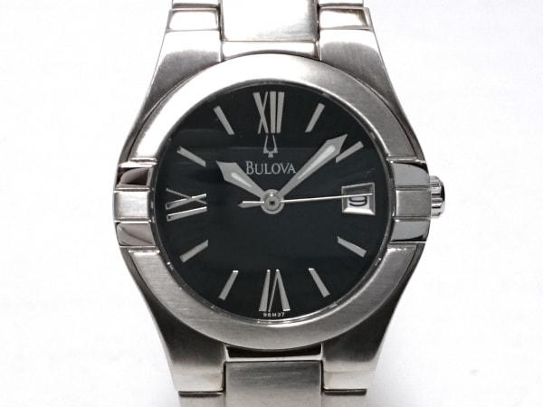 Bulova(ブローバ) 腕時計美品  - レディース 黒