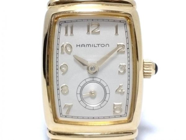 HAMILTON(ハミルトン) 腕時計 6246 レディース アイボリー