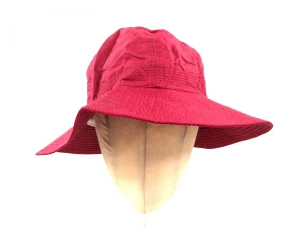 maxim(マキシン) 帽子美品  レッド MdeM コットン