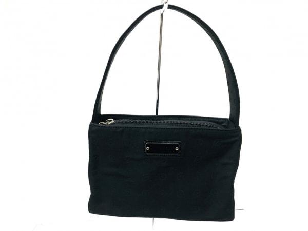POLLINI(ポリーニ) ハンドバッグ美品  黒 ミニ ナイロン