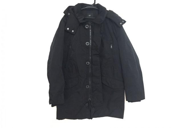 ニジュウサンク オム ダウンコート サイズ48 XL メンズ 黒 冬物/ジップアップ