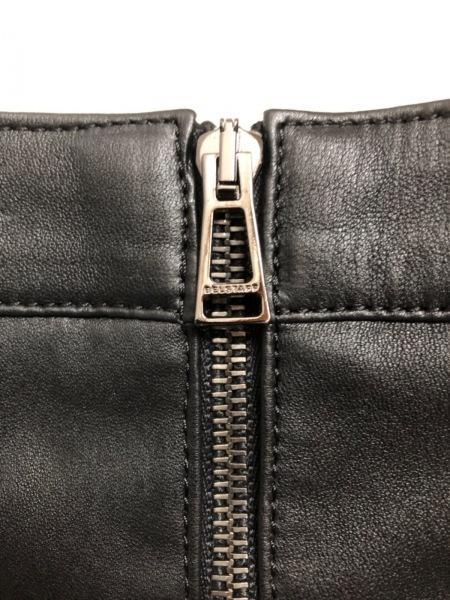 BELSTAFF(ベルスタッフ) スカート サイズ44 L レディース美品  黒 レザー
