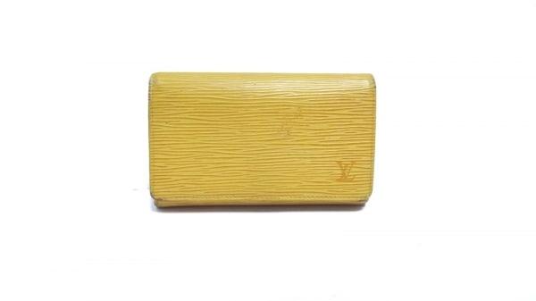 ルイヴィトン 2つ折り財布 エピ ポルト モネ・ビエ トレゾール M63509 ジョーヌ