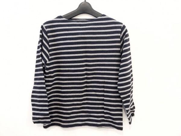 セントジェームス 長袖Tシャツ サイズXXS XS レディース ダークネイビー×グレー