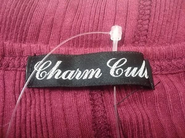 CHARMCULT(チャームカルト) カーディガン サイズ1 S メンズ ボルドー