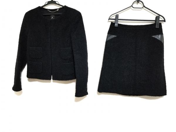 SEVENTY(セブンティ) スカートスーツ サイズ42 L レディース 黒