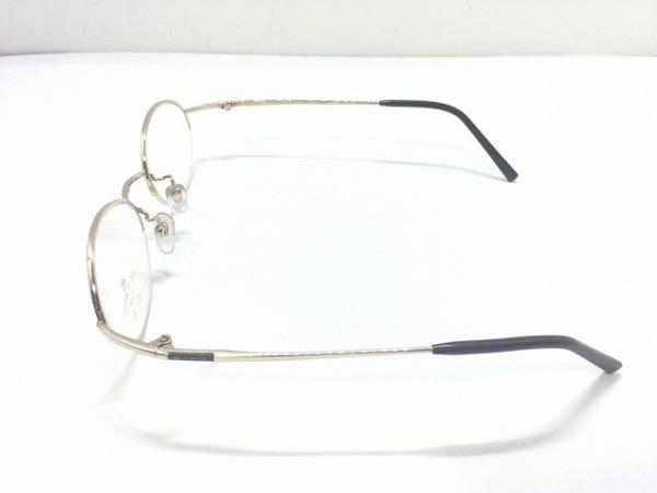 ETRO(エトロ) メガネ 130 クリア×ゴールド×ダークブラウン プラスチック×金属素材