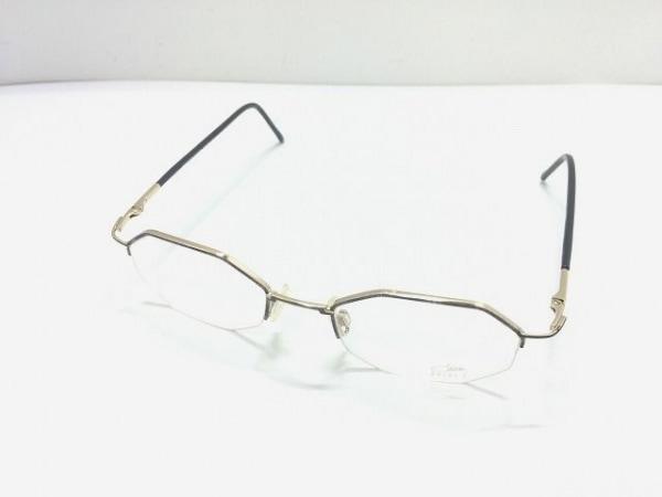 CAZAL(カザール) メガネ MOD.1150 クリア×ゴールド×黒 プラスチック×金属素材